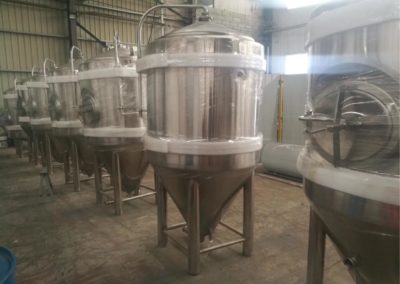 5BBL Fermentation tanks ready for shipping